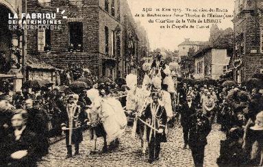 Lisieux- Translation des restes de Ste Thérèse au Carmel- Août \r\n\r\