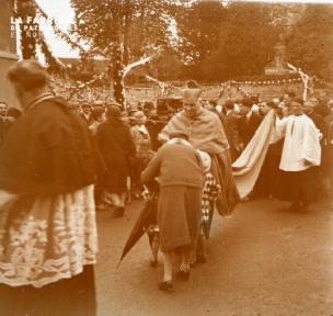 Alençon Fête Ste Thérése 1er juin 1924 1