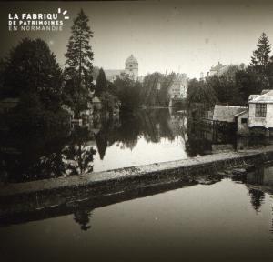 Alençon Le pont de Sarthe