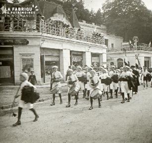 Bagnole, fête des fleurs, 1921 2