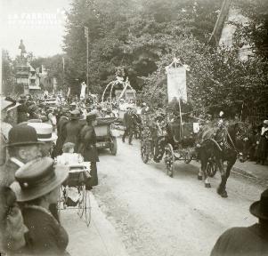 Bagnole, fête des fleurs, 1921