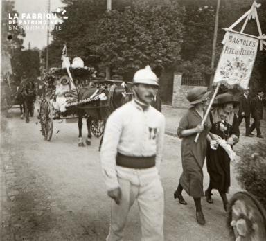 Bagnoles de l' Orne Fête des fleurs 1921