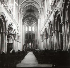 Bayeux intérieur de la cathédrale