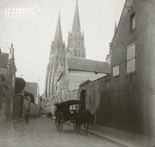 Bayeux, Cathédrale, côté ouest