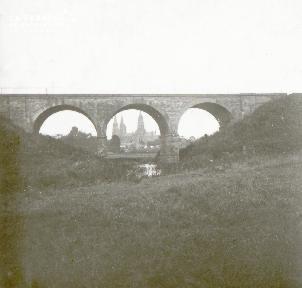 Bayeux, le pont du chemin de fer
