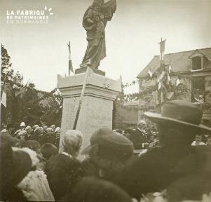 Chapelle-moche, inauguration du monument, 1922