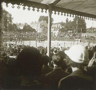 Course de taureaux 1933