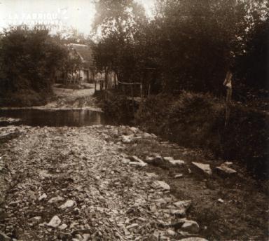Geneslay Le village de Subon 1927