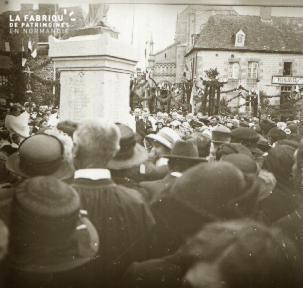 La Chapelle Moch Inauguration du monument 2