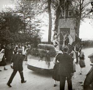 Le Mesle sur Sarthe cavalcade 1919