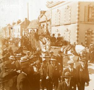 Le Mesle sur Sarthe cavalcade 1922 3