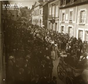 Le Mesle sur Sarthe cavalcade 1922