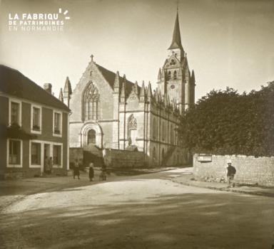 Le Pin la Garenne, l'église