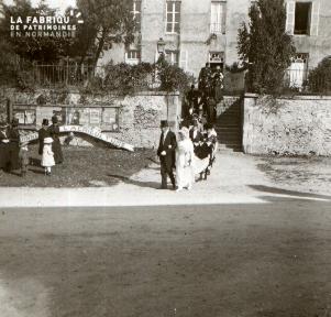 Mariage de Melle de la Maberie 1919 2