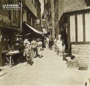 Monts-st-Michel, une rue
