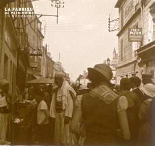 Mortagne, braderie 1935