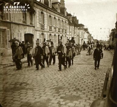 Mortagne, cavalcade, 1932