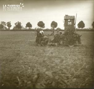 Mortagne, voitures fleuries 1922