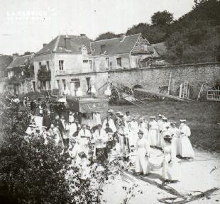 Pervenchère Procession 1920 13