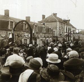 Pervenchères Inauguration du monument 1922 2