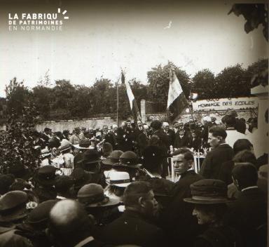 Pervenchères Inauguration du monument 1922 3