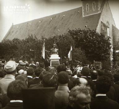 Pervenchères Inauguration du monument 1922