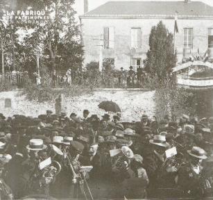 Pervenchères la fête des poilus 1919 2