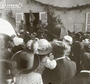 Pervenchères la fête des poilus 1919 3
