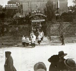 Pervenchères la fête des poilus 1919 4