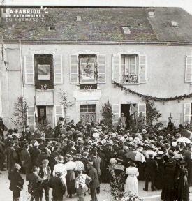 Pervenchères la fête des poilus 1919