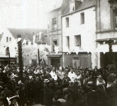 Sées Cinquantenaire de la basilique 1914