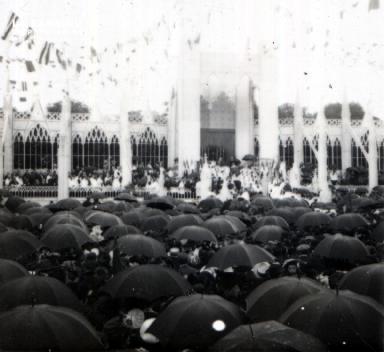 Sées Messe en plein air 1914