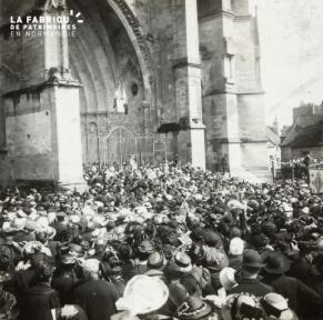 Sées, couronnement de la Ste Vierge, 1914