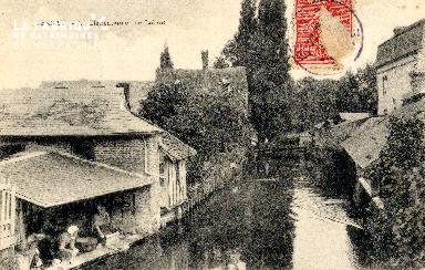 Bernay, Charentonne, rue Lobrot