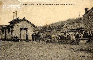 Evreux, baraquements militaires (Eure)