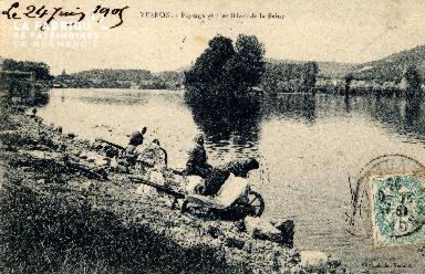 EURE, Vernon, rives de la Seine