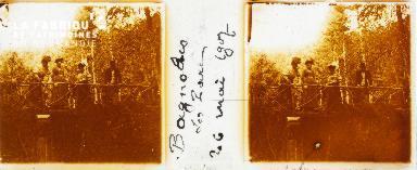 Bagnoles de l'Orne, le parc, 26 mai 1907