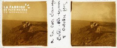 B001 Belle-Ile-en-Mer, à la côte sauvage, 8 oct 1905