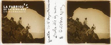 Belle-Ile-en-Mer, grotte de l'Apothicairerie, 8 octobre 1905