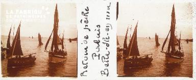 B001 Belle-Ile-en-Mer, retour de pêche, port du Palais