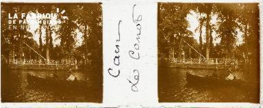 Caen, les canots
