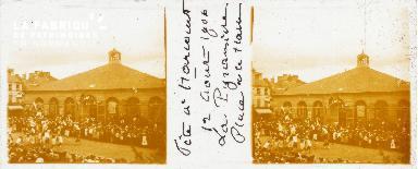 B001 Fête à Harcourt, La Pyramide, 12 août 1906 2