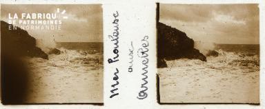 B001 Mer houleuse aux Armelles