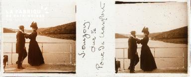 B001 Sauzon, sur le pont de Crawfort