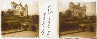 B002 Ambrières, Château des Tourelles 1907