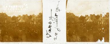 Vassy, fête 28 juillet 1912