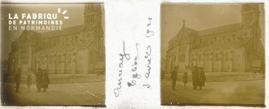 B004 Aunay église 3 avril 1921