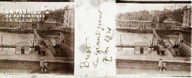 B004 Brest, le grand pont 1921