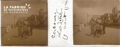 Cabourg, la jetée 19 aout 1922