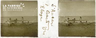 B004 St-Aubin, plage 1921